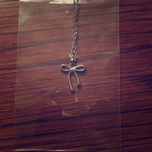 Bow Necklace 🎀!